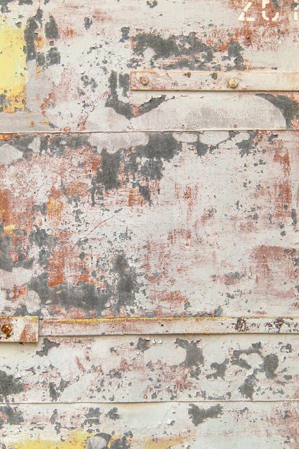 Jaskrawy ekspresyjny tło różni kolory na metalu fotografia royalty free