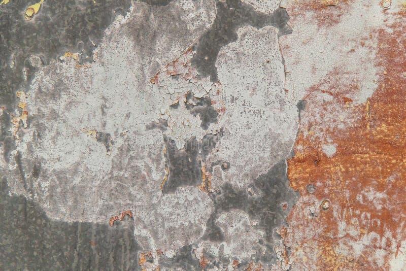 Jaskrawy ekspresyjny tło różni kolory na metalu obrazy royalty free
