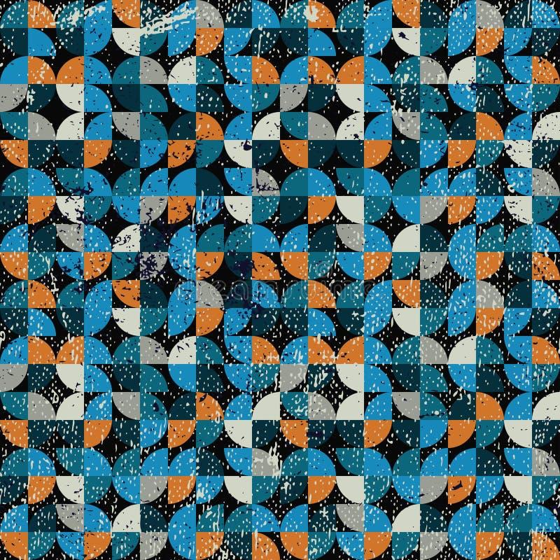 Jaskrawy iteratywny tło ilustracja wektor