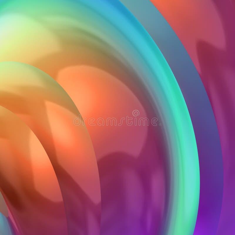 jaskrawy kolorowy ilustracja wektor