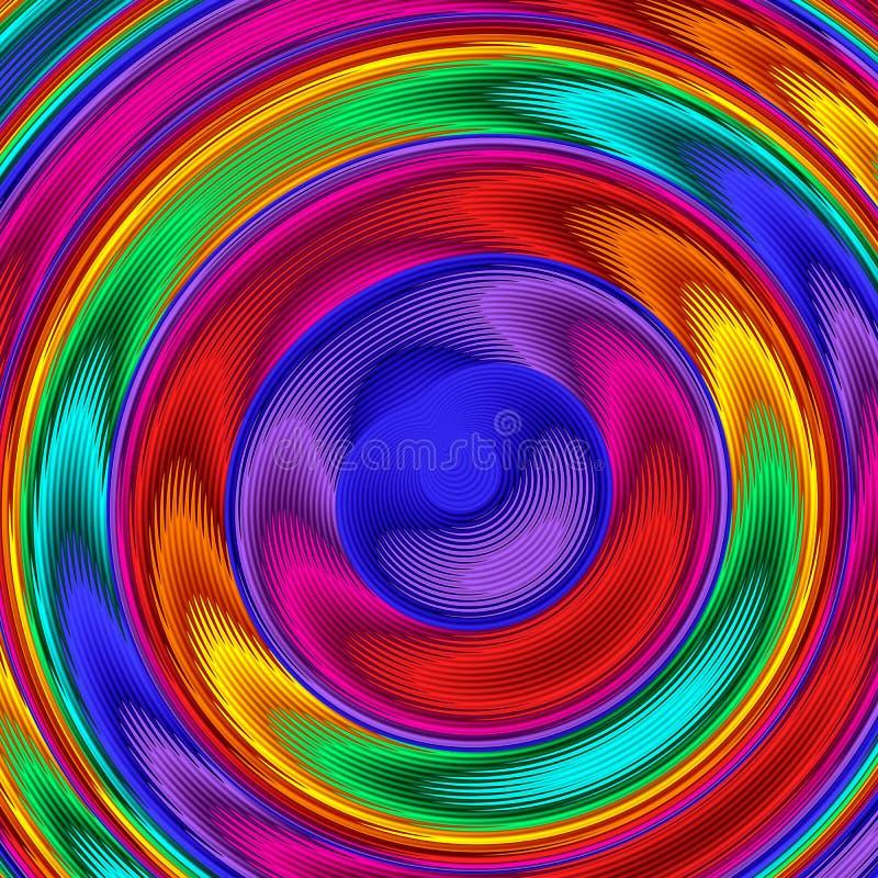 Jaskrawy kolorowy abstrakt wykłada dla tła Grafika dla kreatywnie sztuki i projekta royalty ilustracja