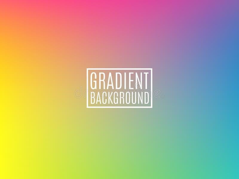 Jaskrawy Kolorowy tło Minimalny projekta szablon Miękki koloru tło dla ulotki, sieć, broszurka Nowożytny gradient ilustracji