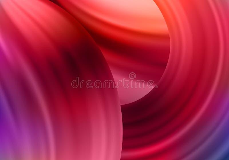 Jaskrawy Kolorowy tło z Gradientowymi farb pluśnięciami Wektorowy projekt dla prezentacji, ulotek, sztandarów i plakatów, royalty ilustracja