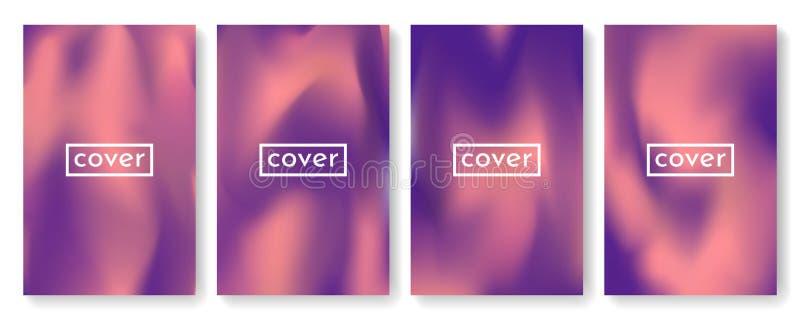 Jaskrawy koloru tło z siatki gradientową teksturą dla broszurki, ulotka, ulotka, pokrywa, katalog Błękit, menchia, kolor żółty, z ilustracji