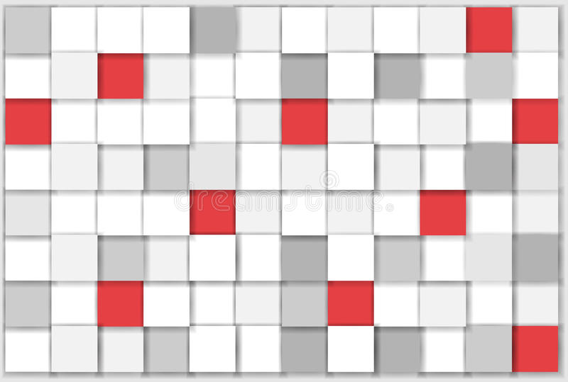 Jaskrawy kwadrata tło ilustracji