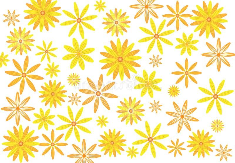 Jaskrawy kwiaty zdjęcia stock