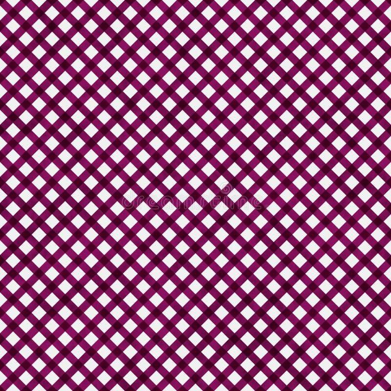 Jaskrawy menchia wzoru powtórki tło ilustracja wektor