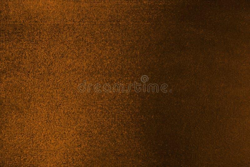 Jaskrawy pomarańczowy wełnisty tło obrazy stock