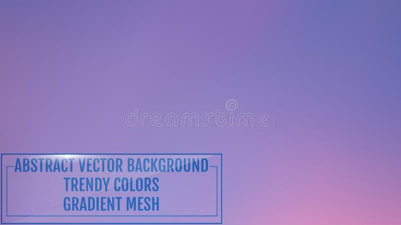 Jaskrawy pozaziemski siatka gradientu tło Gładcy modni nowożytni kolory z światłem Wszechrzeczy mgławicy pojęcie dla twój graficz ilustracji