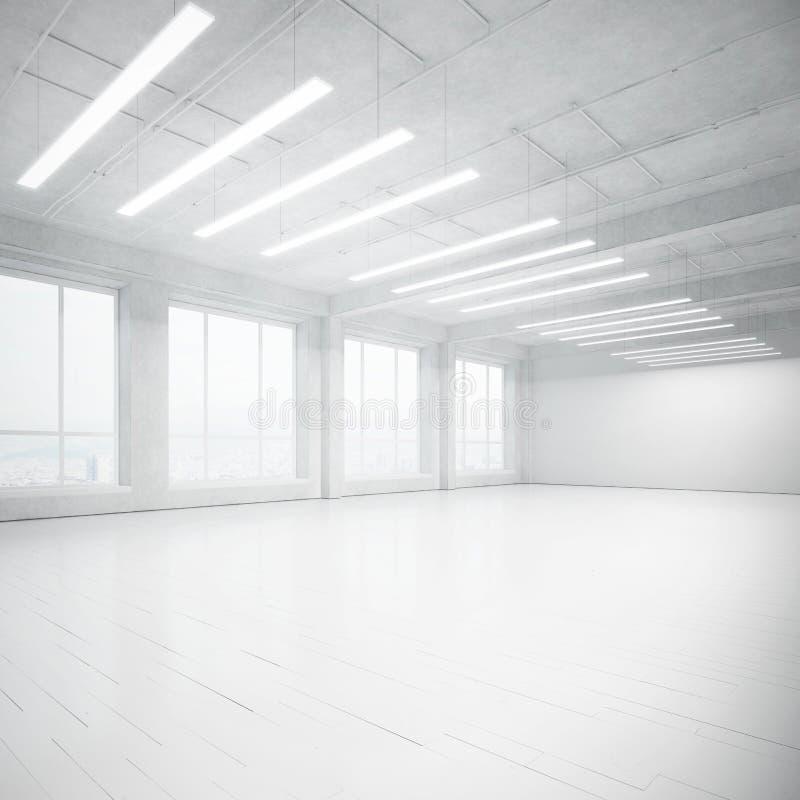 Jaskrawy pusty loft zdjęcia royalty free