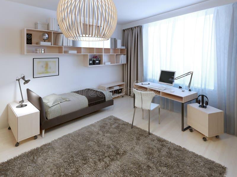 Jaskrawy sypialnia trend zdjęcia stock