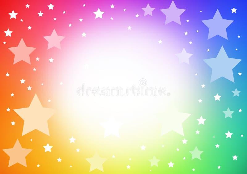 jaskrawy tło gwiazda ilustracja wektor