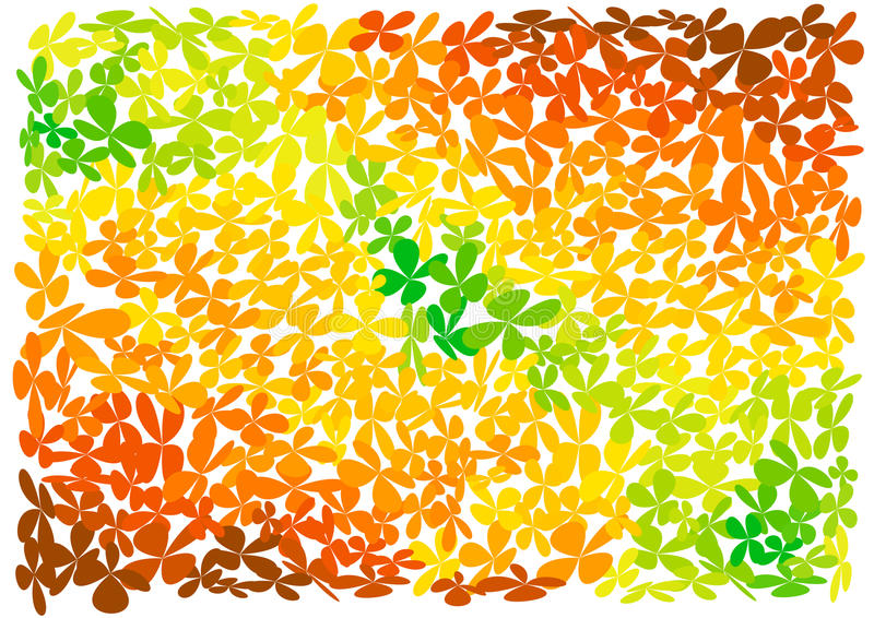 jaskrawy tło kwiaty ilustracja wektor