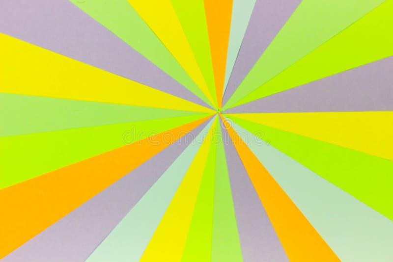 Jaskrawy unikalny kolorowy tło składa się różnych naszłych kolory Paleta kolory Multicolor t?o od papieru obrazy royalty free