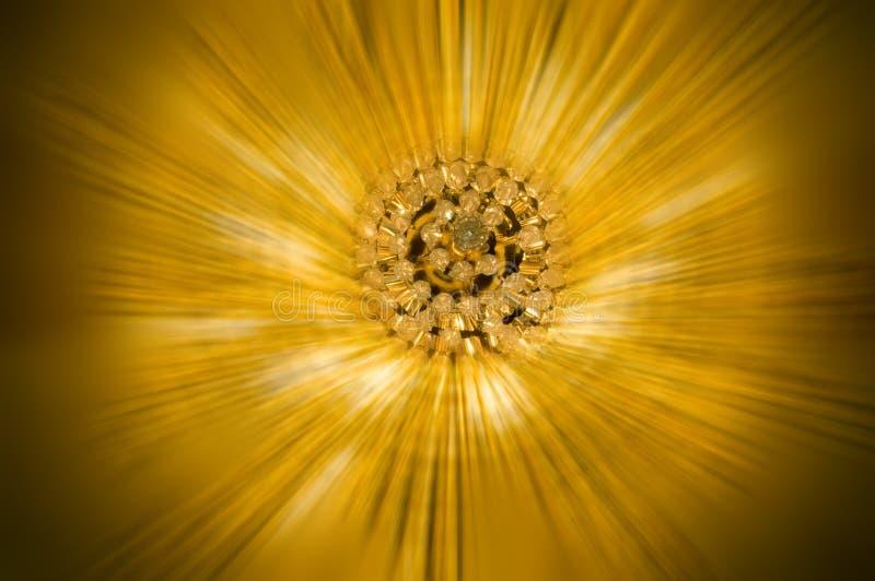 jaskrawy złoto fotografia stock