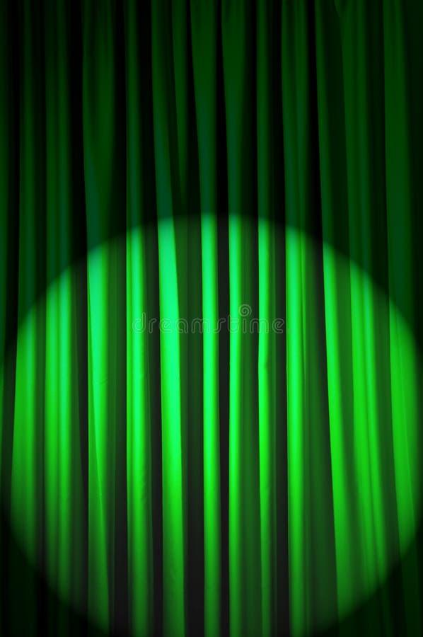 Jaskrawy zaświecać zasłony - theatre pojęcie zdjęcia royalty free