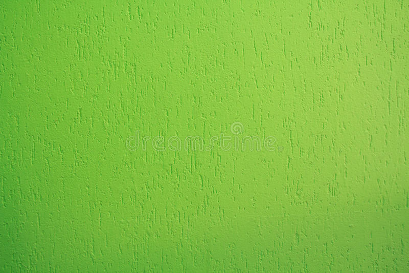 Jaskrawy - zielona stiuk ściana fotografia royalty free