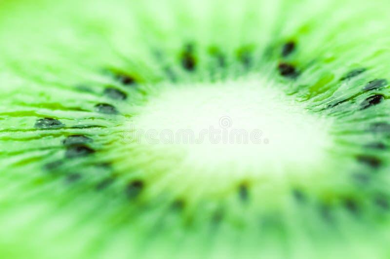 Jaskrawy - zielony kwaśny kiwi obudzi apetyt obraz royalty free