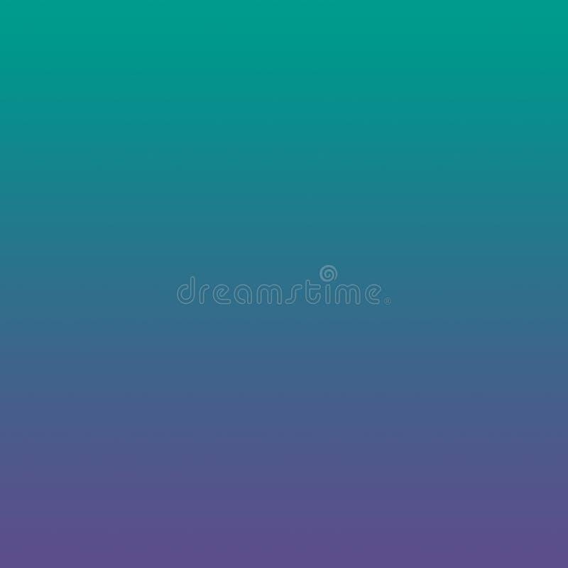 Jaskrawy - zielony Ultrafioletowy Zamazany Gradientowy Minimalny tło ilustracji