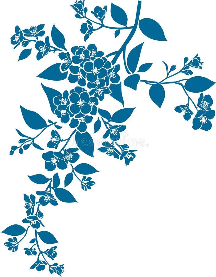 Jasmijn royalty-vrije illustratie