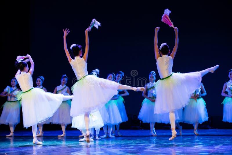 Jasmine Flowersï ¼ ˆNoviceï ¼ ‰ - κινεζικό εθνικό μπαλέτο στοκ φωτογραφία