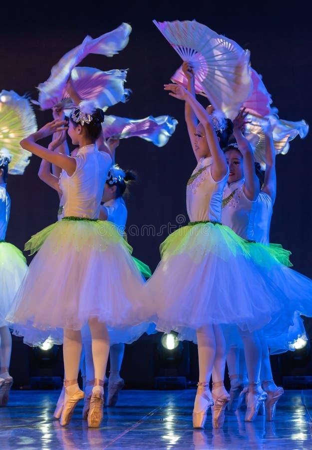 Jasmine Flowers-Chinese National Ballet stock photo