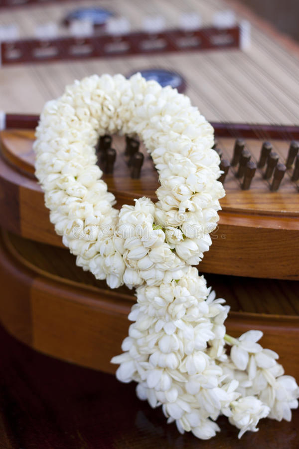Download Jasmine Garland stock photo. Image of fashioned, old - 26942996