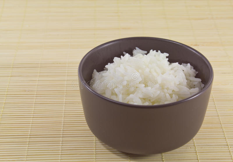 Jasmine rice stock image