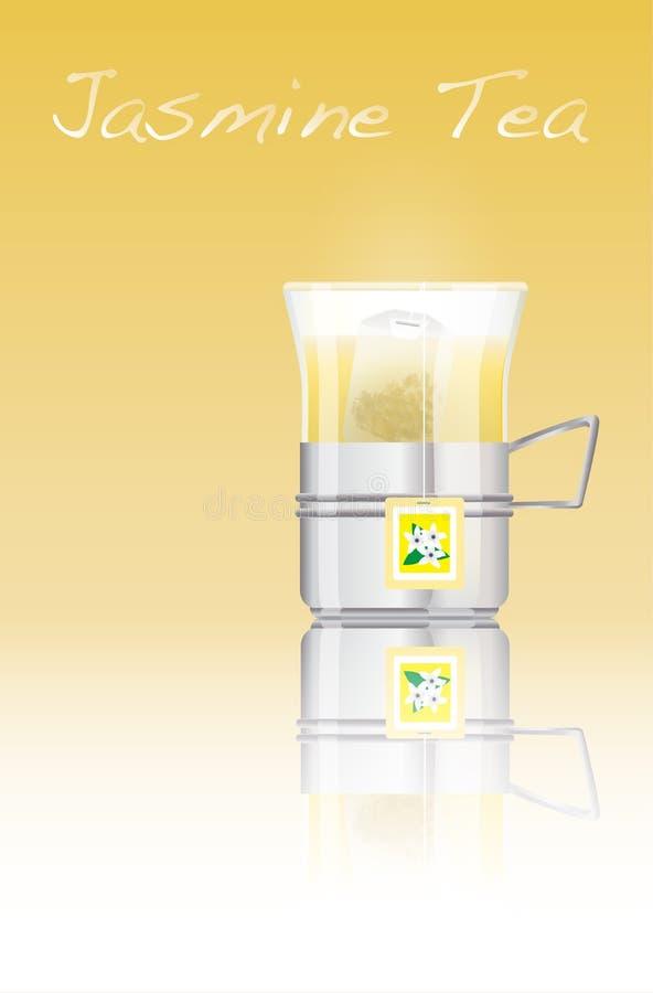 Download Jasmine tea stock vector. Illustration of green, aromatic - 16717906