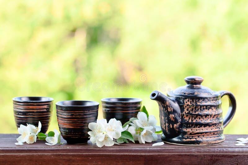 Jasmine Tea stock foto's