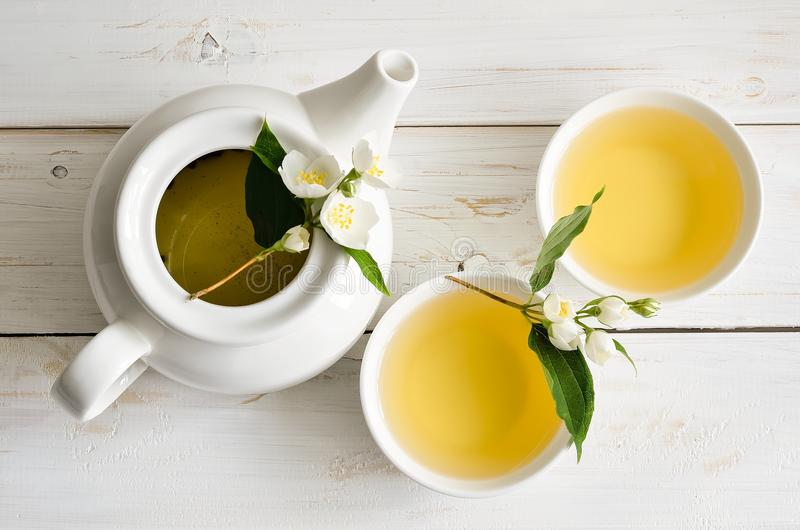 Jasmine Tea foto de stock royalty free