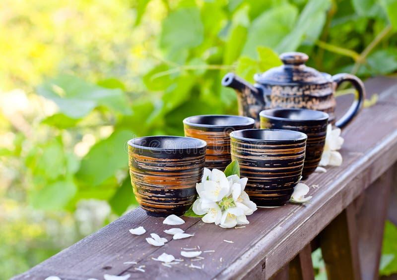 Jasmine Tea royalty-vrije stock afbeeldingen