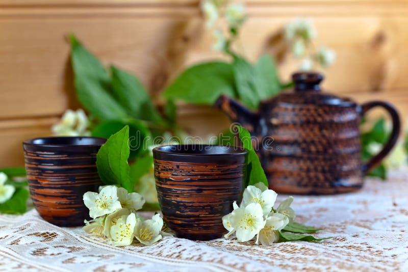 Jasmine Tea royalty-vrije stock foto