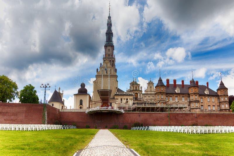 Jasna Gora修道院在琴斯托霍瓦 波兰 免版税库存照片