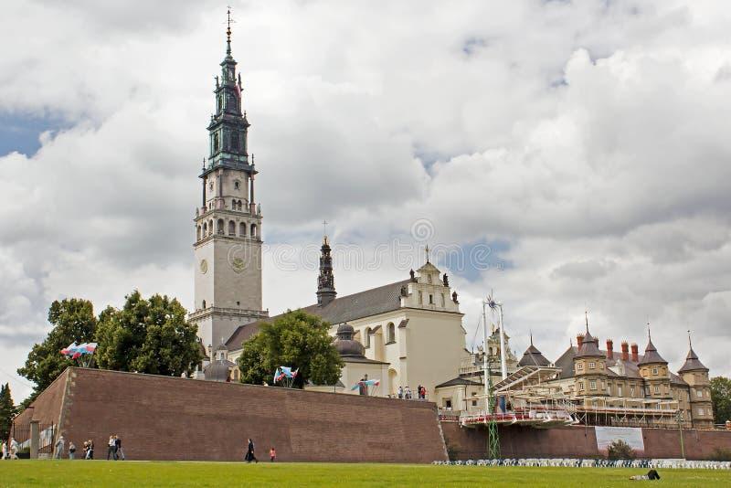 Jasna Gora in the City of Czestochowa stock photos
