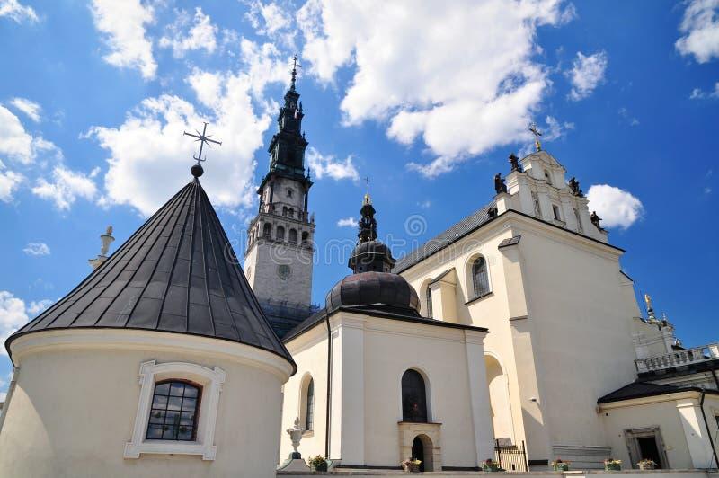 Jasna Gora in Czestochowa monastery royalty free stock photos