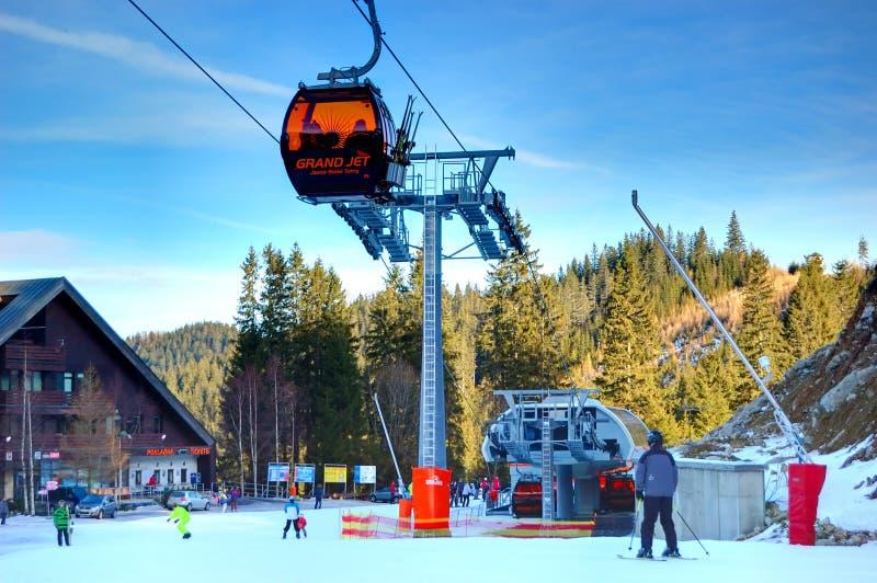 Jasna Low Tatras ski resort in Slovakia