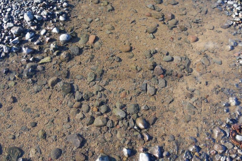 Jasna woda i skały w Oregon zdjęcia stock