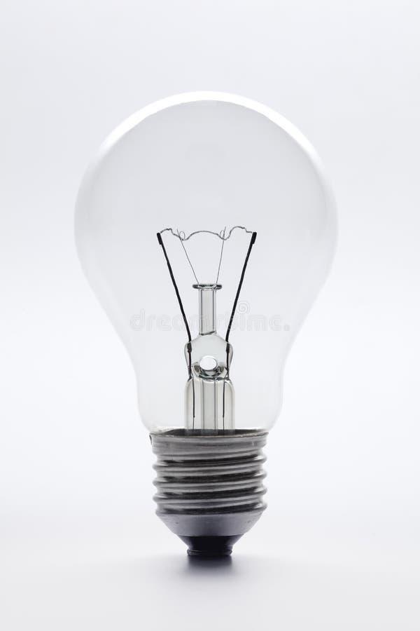 jasnego pełny szklany długości lightbulb fotografia royalty free