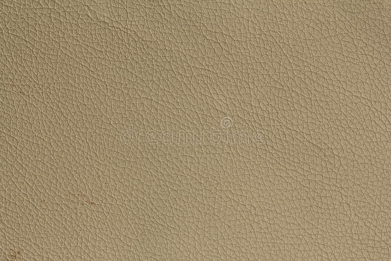 Jasnobrązowa rzemienna tekstura używał jako tło zdjęcie royalty free