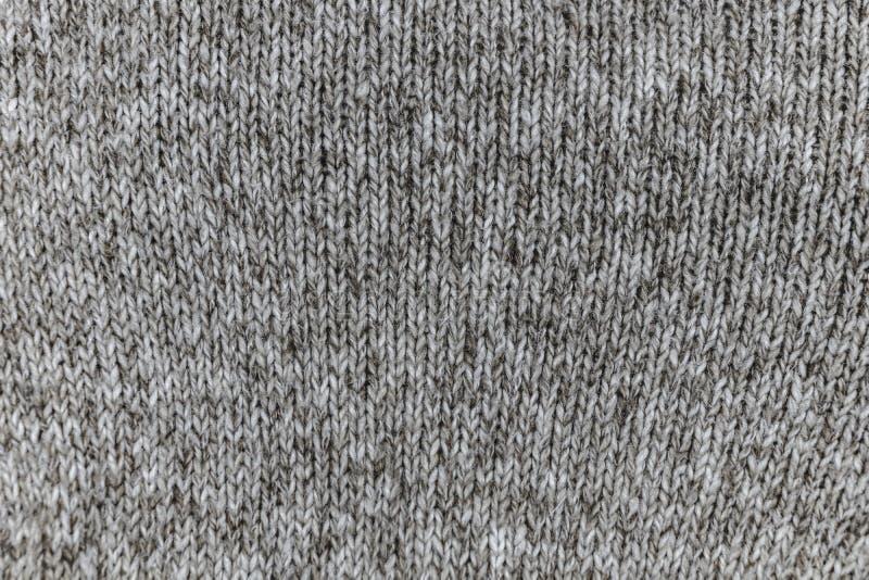 Jasnopopielata bawełnianej tkaniny tekstura royalty ilustracja
