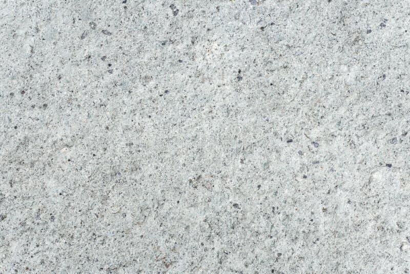 Jasnopopielata Betonowa podłoga z Małym Czarnym kropka wzorem zdjęcie royalty free