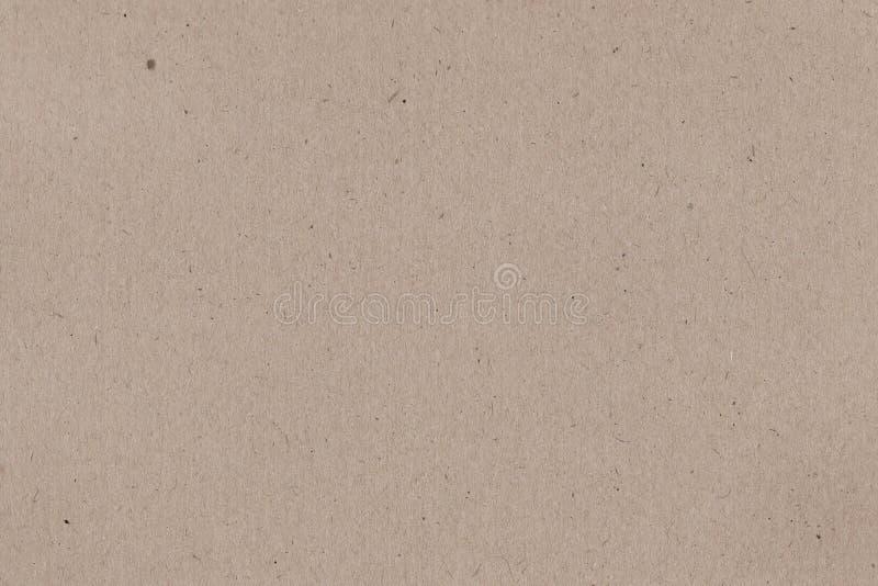 Jasnopopielatego prostego papieru pakunku tekstury kartonowy tło zdjęcie royalty free