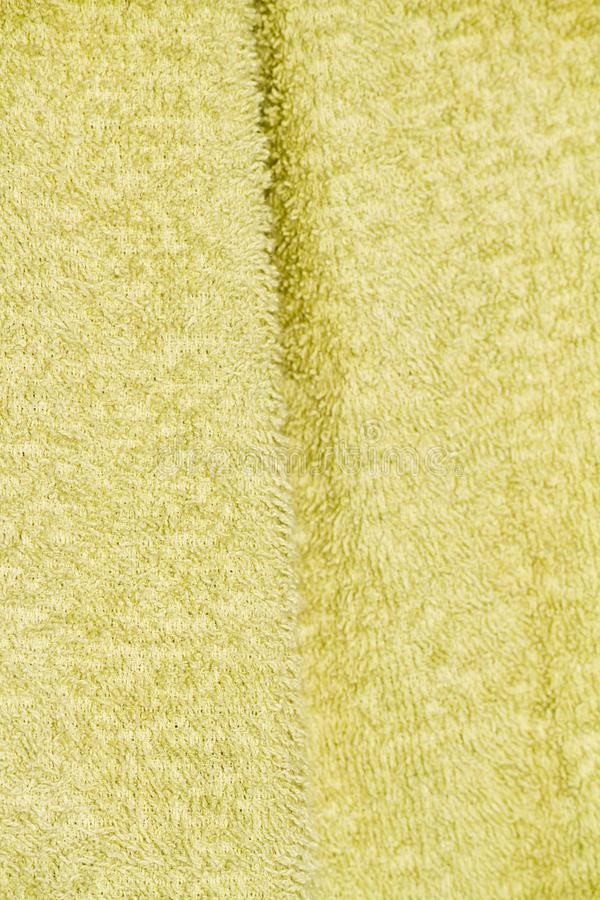 jasnozielona kąpanie ręcznika tekstura zdjęcia stock