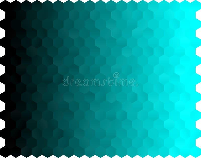 Jasnozielony pionowo poligonalny tło Całkowicie nowy kolor ilustracja w niejasnym stylu royalty ilustracja