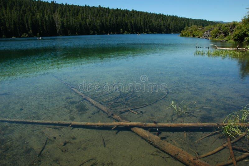 jasny jeziorny Oregon fotografia royalty free