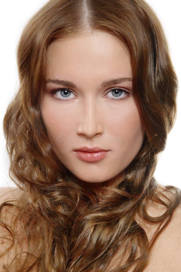 Jasny makeup zdjęcia royalty free