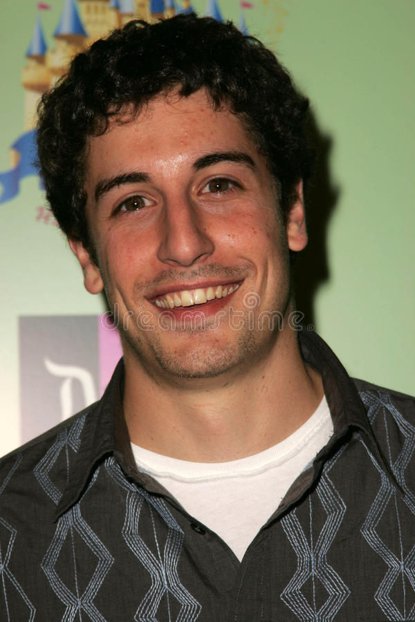 Jason Biggs. At the unveiling of the limited edition Disneyland 50th Collection, Fred Segal, Santa Monica, CA 07-13-05 royalty free stock image