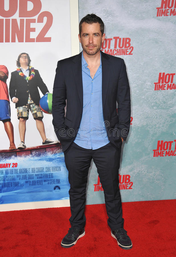 Jason D. Jones. LOS ANGELES, CA - FEBRUARY 18, 2015: Jason D. Jones at the Los Angeles premiere of his movie Hot Tub Time Machine 2 at the Regency Village royalty free stock photography
