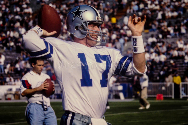 Jason Garrett Dallas Cowboys imagem de stock royalty free